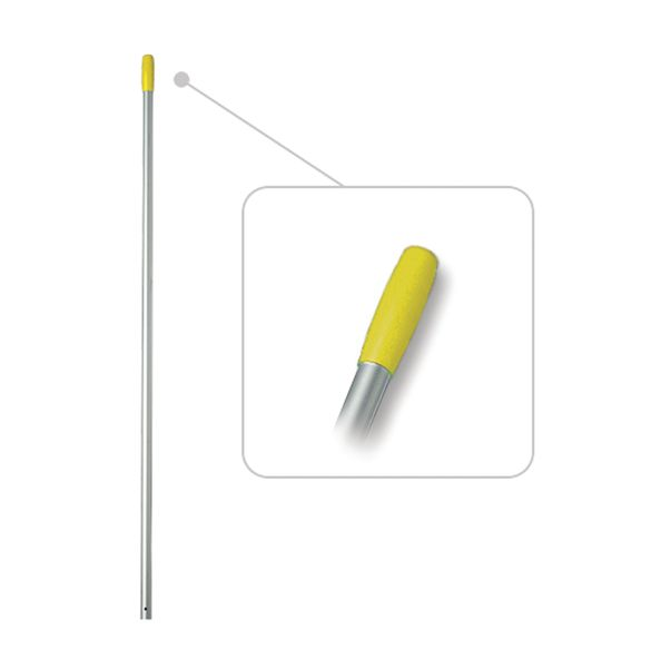 Telescopic Aluminium Handle Yellow Low
