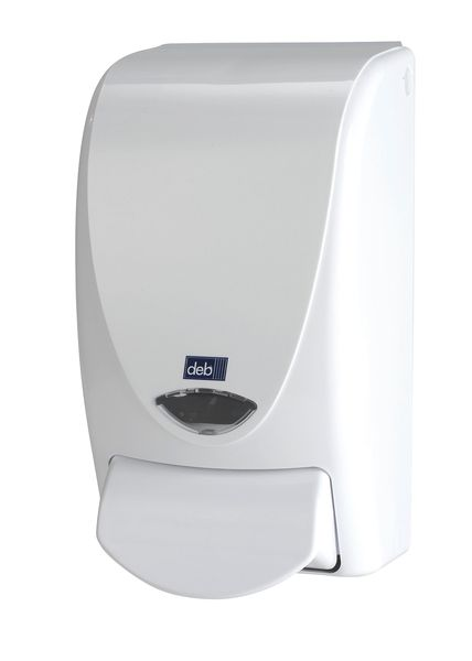 Standard White Dispenser Empty 1 Litre Dispensers