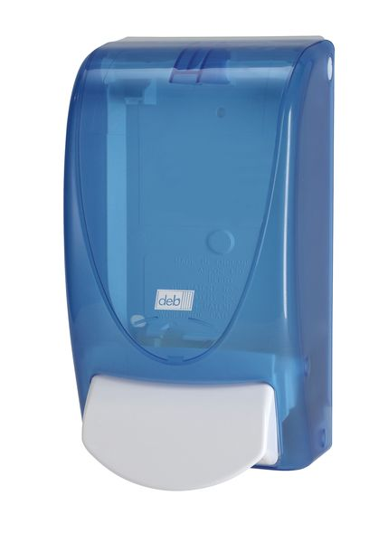 Clear Blue Dispenser Dispensers