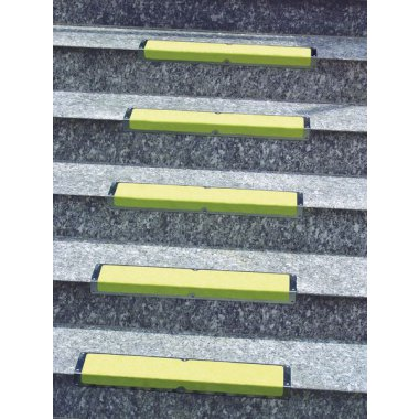Hd Antislip Stair Nosing Alu Yellow Low For Stairs