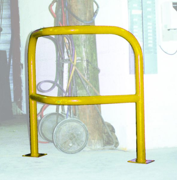 Angled Hoop Guard Yellow Low