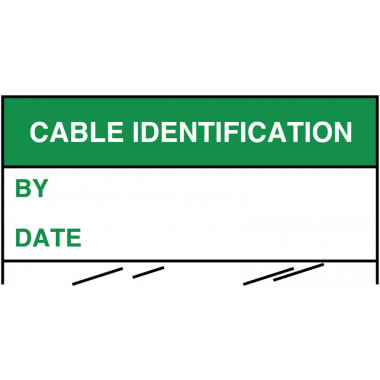 Electrical Write-On Cable Markers Pack of 350 Cables
