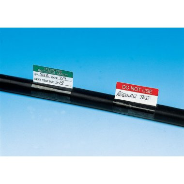 Electrical Write On Labels Cable Markers Pack of 350 Write On Labels