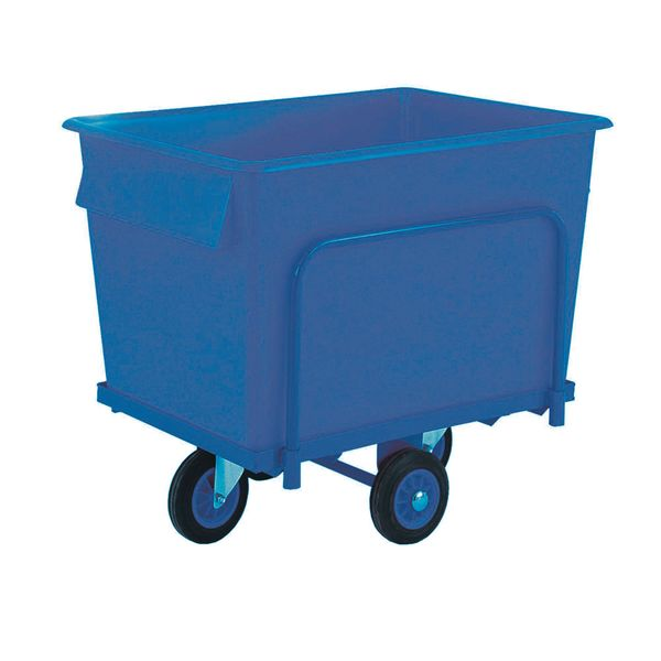 Truck With Container 250 Kg Blue Storage Containers