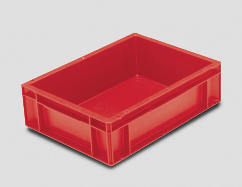 Extra Small Euro Container Solid 10 Litre Red Storage Containers