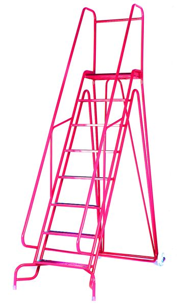Fort Arrow Mobile Steps 3 Treads Red Steps