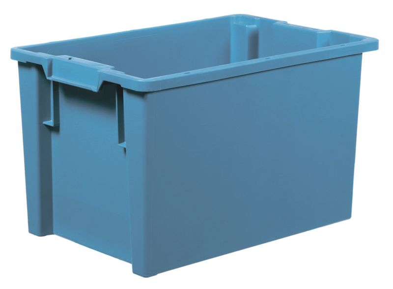 Solid Stack And Nest Container 32 Litre Storage Containers
