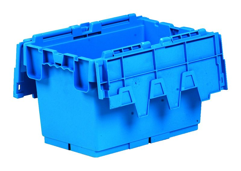 Hd Attached Lid Container 46 Litre Storage Containers