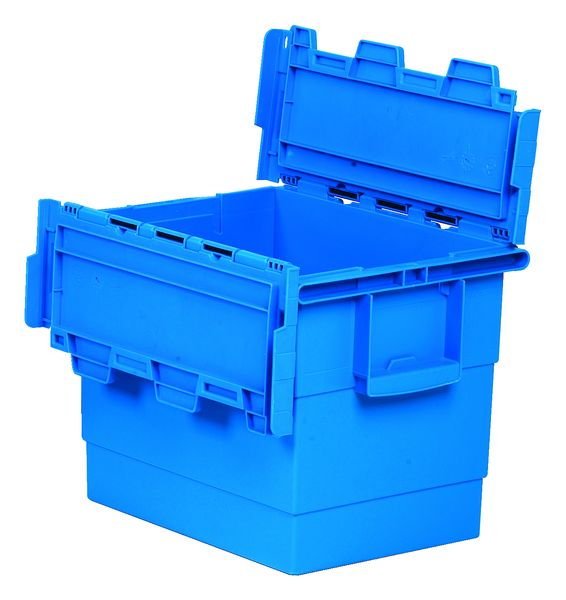 Hd Attached Lid Container 25 Litre Storage Containers