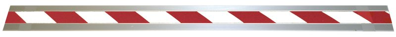 Antislip Stair Nosing Alu Phtlm Red / White For Stairs