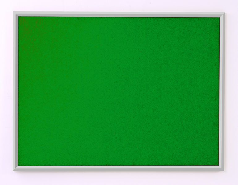 Eco Notice Board Alum Frame 600 x 900 mm Green