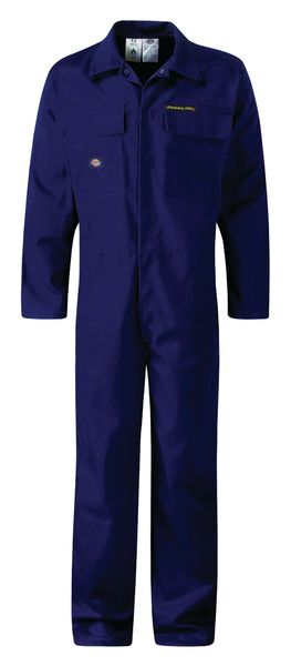Flame Retardant Coverall 42 Inch Chest Navy Coverall