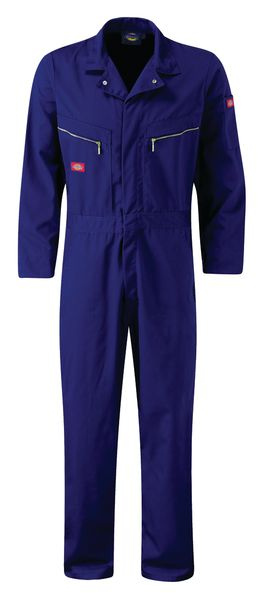 Zip Front Coverall Long Size 36 Inch Navy Coverall