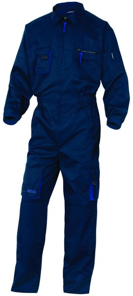 Mach 2 Polycotton Coverall Navy - Size Small Coverall