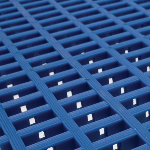 Heavy Duty Matting 5 Metre x 0.9 Metre Blue Mats