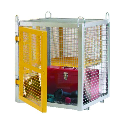 Static Security Cage Galvanised Cages