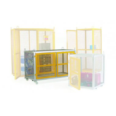Mobile Security Cage Galvanised Cages