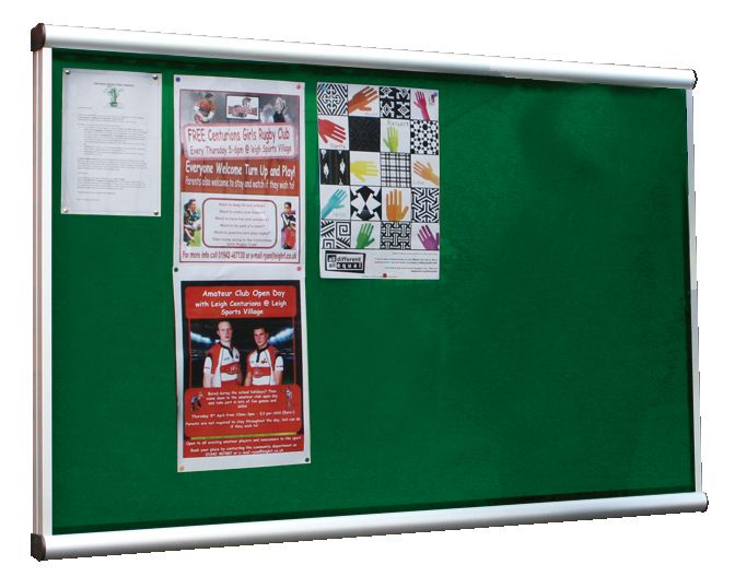 Illuminated Extension Showcase Green 12 x Size A4Show Cases