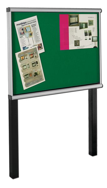 Post Mount Extension Showcase Green 8 x Size A4Show Cases