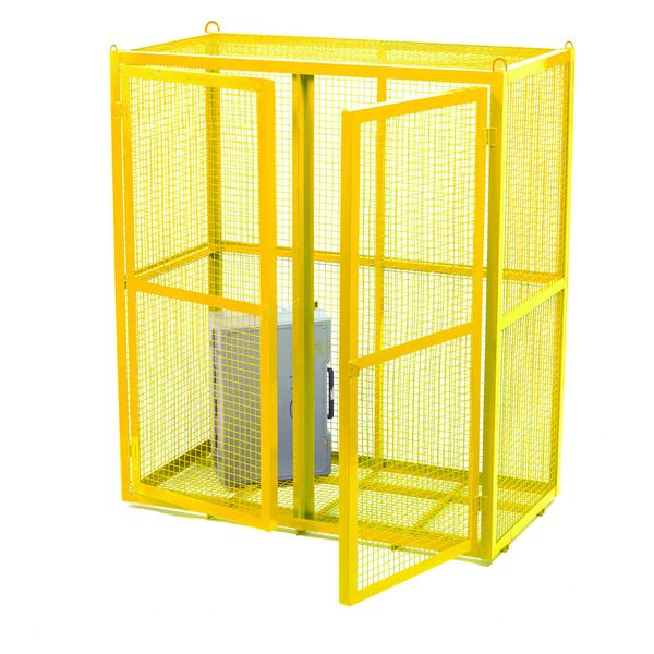 Static Security Cage Stove Enamel Cages
