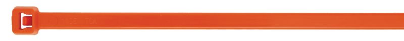 Nylon Cable Ties 2.5 x 100mm Orange Pack of 100 Cable Ties