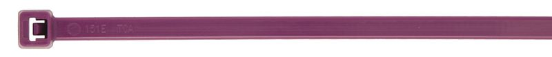 Nylon Cable Ties 2.5 x 100mm Purp Pack of 100 Cable Ties