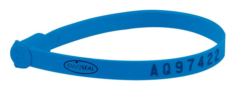 Wristband Tyvek 1In Wide Blue