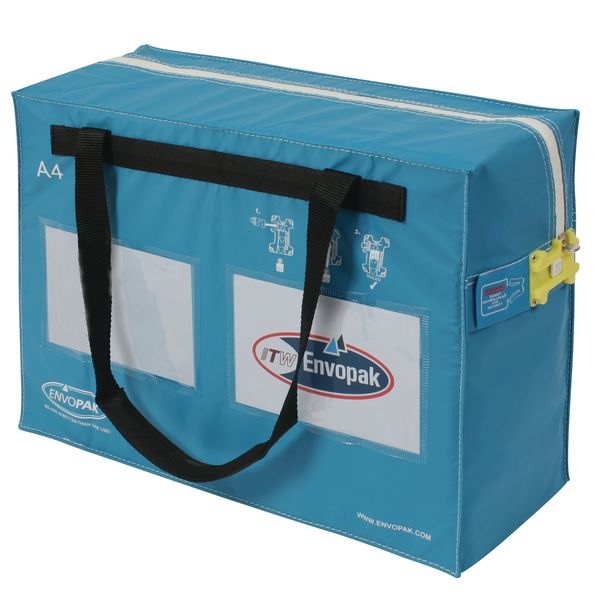 A4 20 Litre Security Blue Bag Security Bags