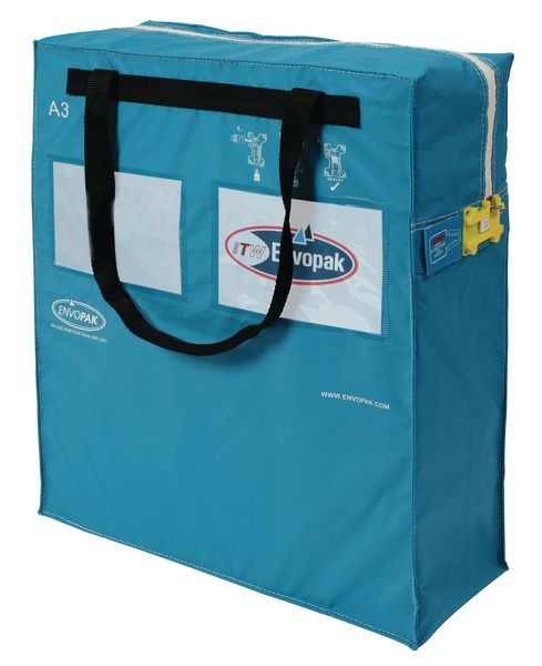 Size A3 / 30 Litre Security Blue Bag Security Bags