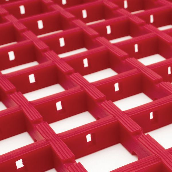 Light-Duty Matting 5 Metre x 0.6 Metre Red Mats