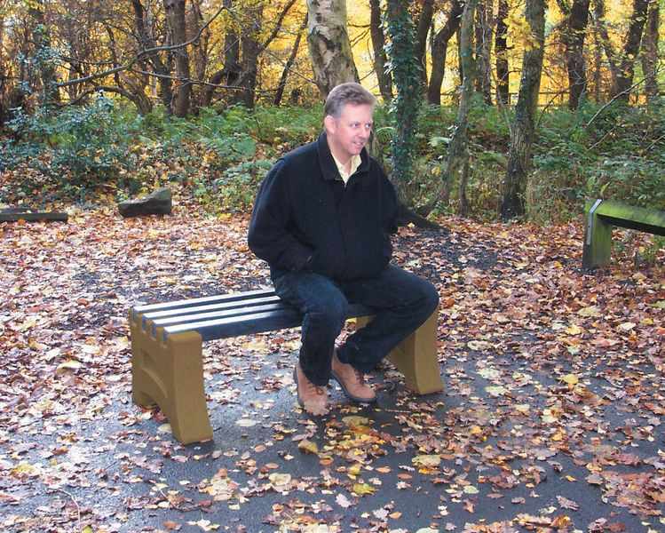 Heavy Duty 2 Person Bench Sandstone