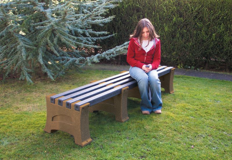 Heavy Duty 4 Person Bench Saphire