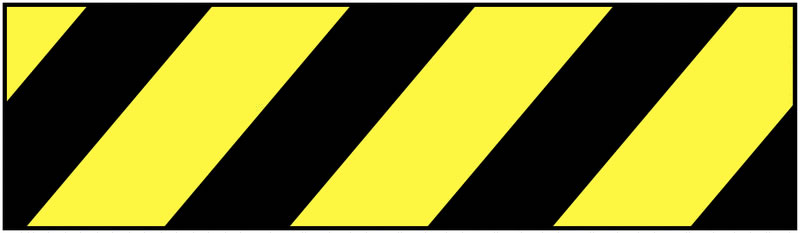 Super Strong Plastic Barrier Tape Black / Yellow Tapes