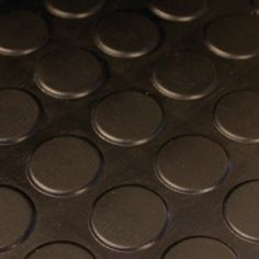 Industrial Studded Mat 3mm Thickness Black Mats