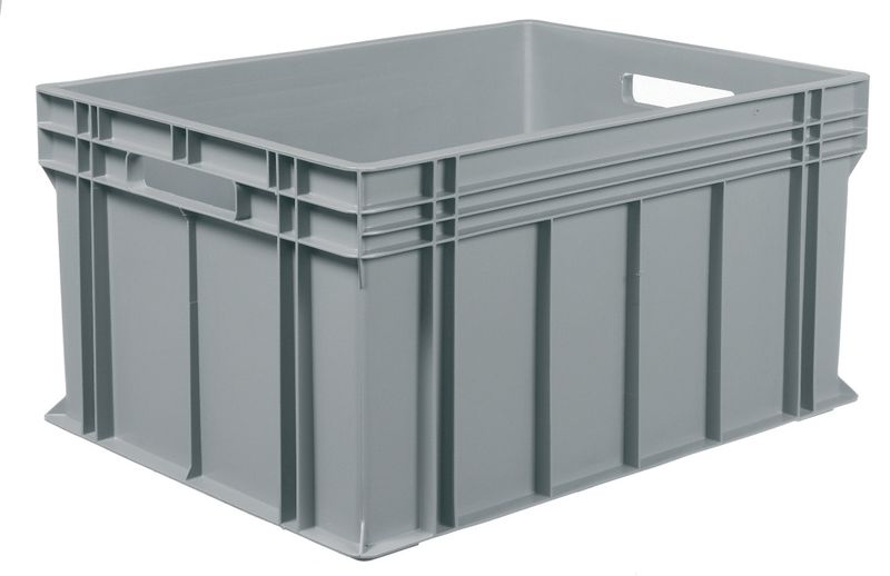 Solid Plastic Stackable Container 123 Litre Storage Containers