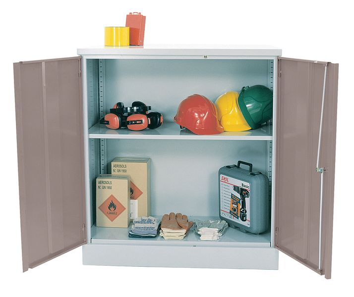 Tool Cupboard Grey
