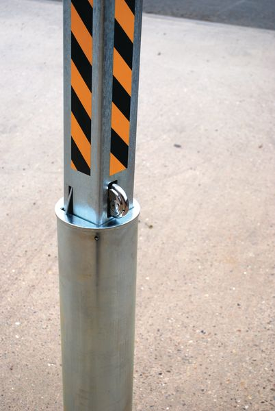 Manual Rising Bollard Bollards
