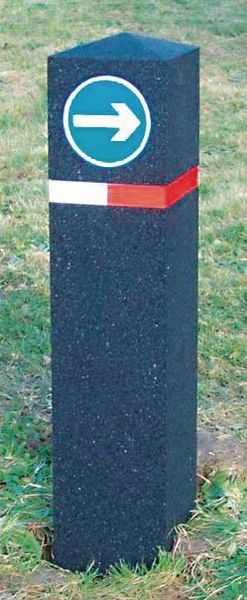 Berkeley Recycled Bollard 1300mm Bollards