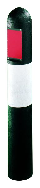Recycled Plastic Bollard Hazard Type B Bollards