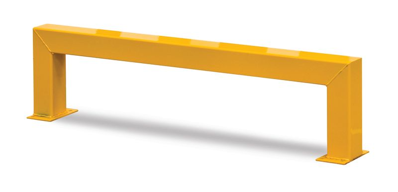 Low Level Barrier - 800mm - Yellow Low Car Park Barriers