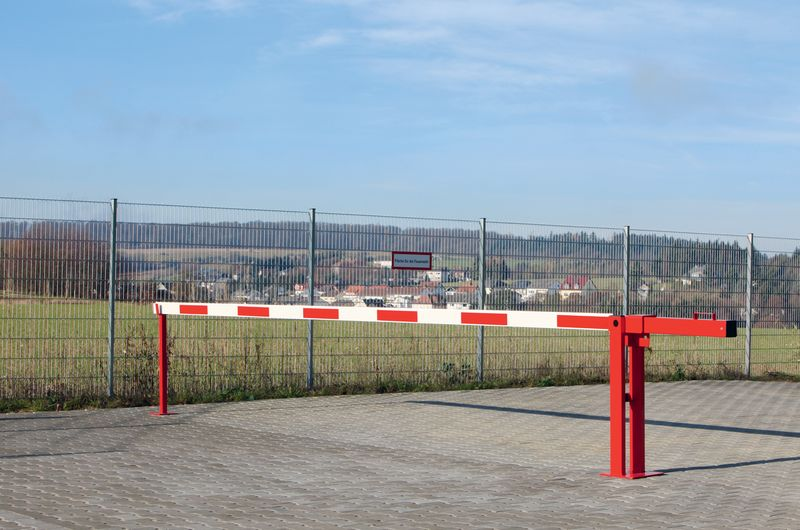 Compact Boom Barrier And Pendulum Support Car Park Barriers