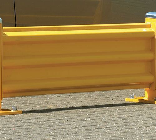 Steel Barrier System 1728mm Car Park Barriers