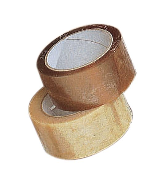 Tan Polypropylene Tape W50mm x Length 66M Pack of 12 Tapes