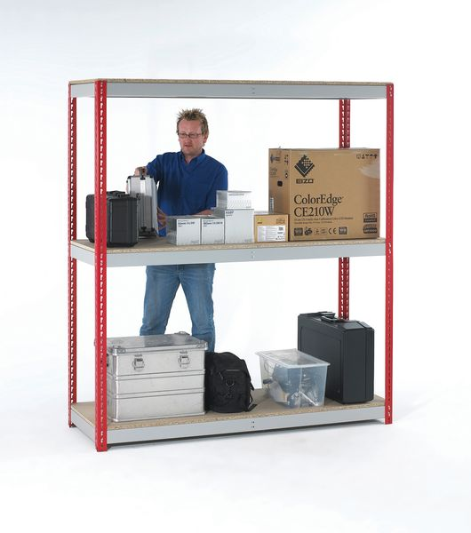 Heavy Duty General Purpose Shelving Red Shelving