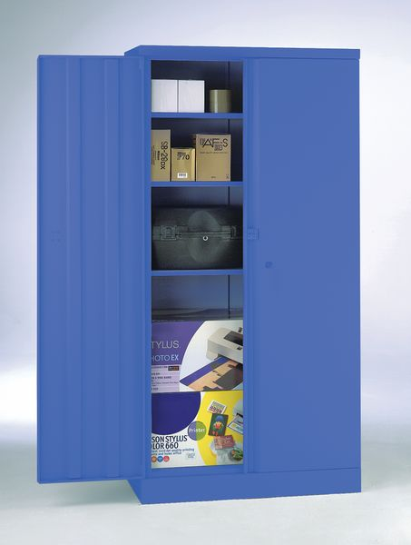 Security Cupboard 1829 x 915 x 470 Blue