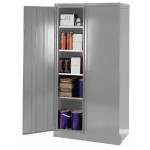 Solid Colour Cupboard Grey