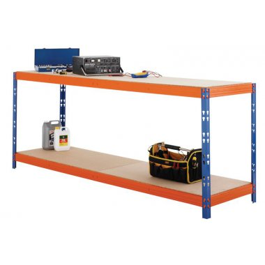Eco Max Workbench C / With Chipboard Shelves