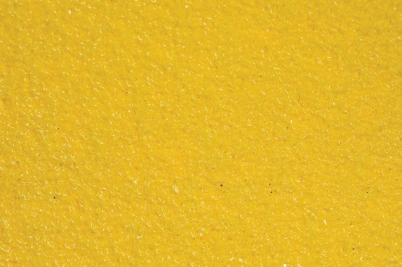 Anti Slip Plate 635 x 115 Alu Yellow Low