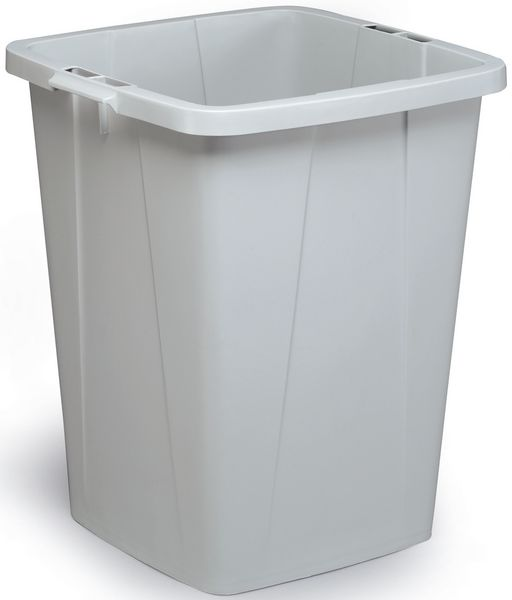 Recycling Container 90 Litre Grey Storage Containers