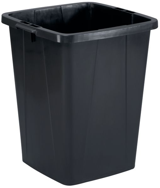 Recycling Container 90 Litre Black Storage Containers